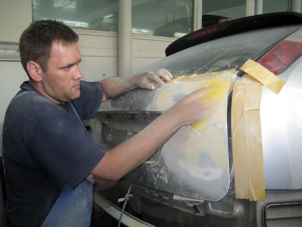 Как правильно перекрасить машину своими руками 75
